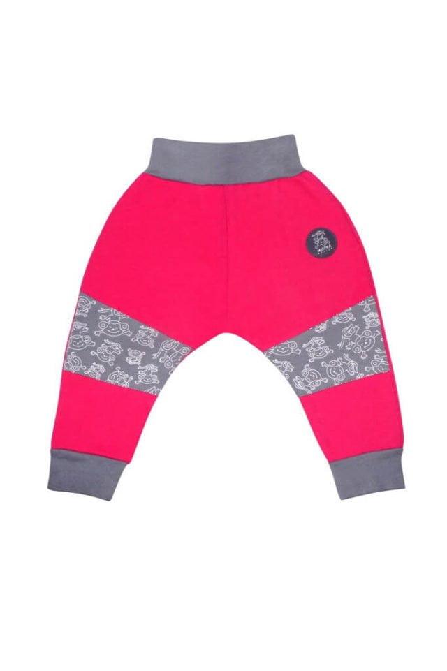 spodnie-cieple-dla-dziecka-bawelna-rozowe