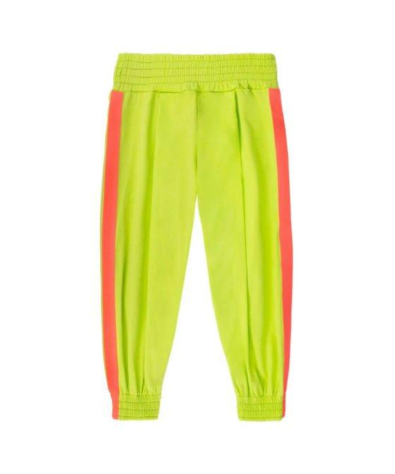 spodenki-haremki-zielone-neon-dziecko-lato-miapka-wygoda