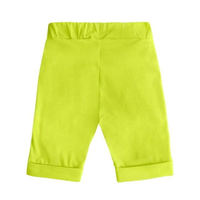 spodenki-szorty-dziecko-lato-bermudy-miapka-bawelna-zielen-tyl