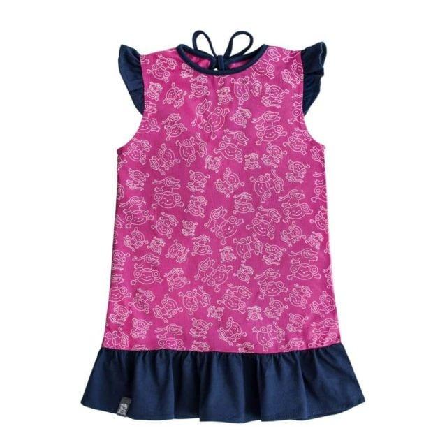 sukienka-dziecko-lato-dziewczynka-bawelna-miapka-granat-przod