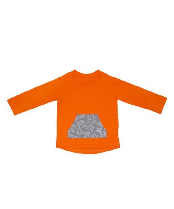koszulka-dla-dziecka-dlugi-rekaw-bawelna-long-sleeves-pomaranczowa