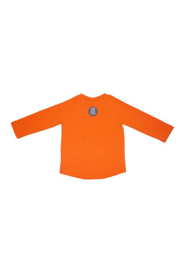 koszulka-dla-dziecka-dlugi-rekaw-bawelna-long-sleeves-pomaranczowa-tyl